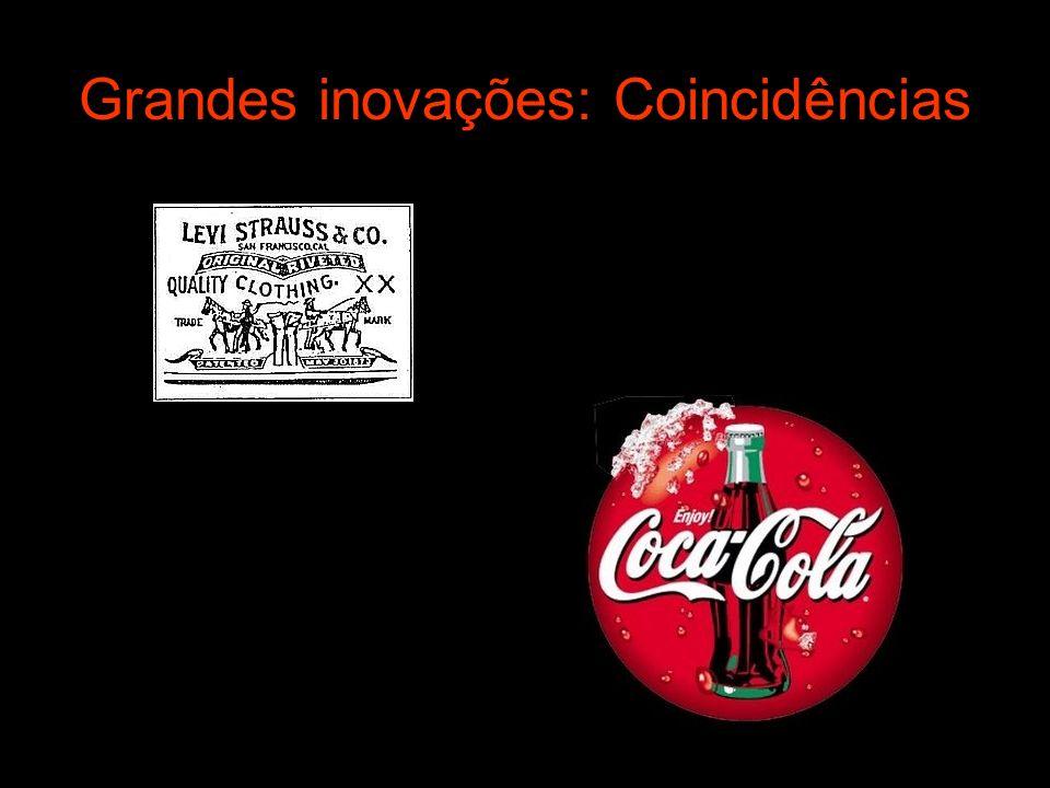 Grandes inovações: Coincidências