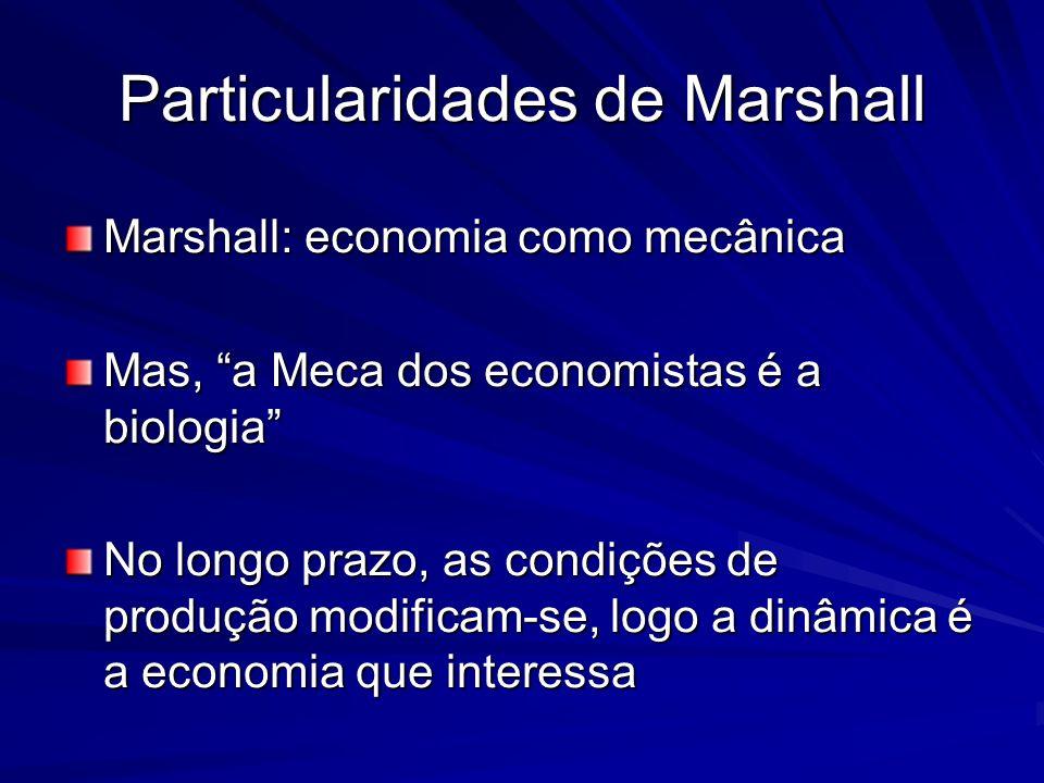 Particularidades de Marshall