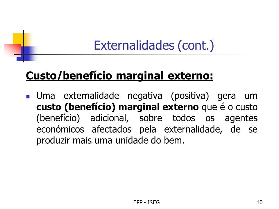 Externalidades (cont.)