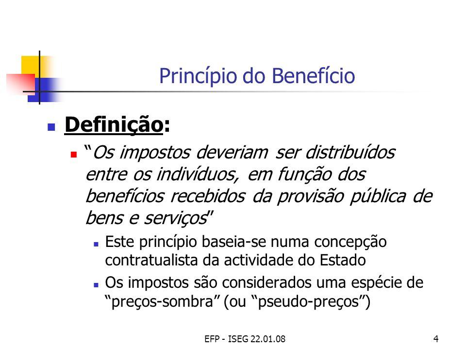 Princípio do Benefício