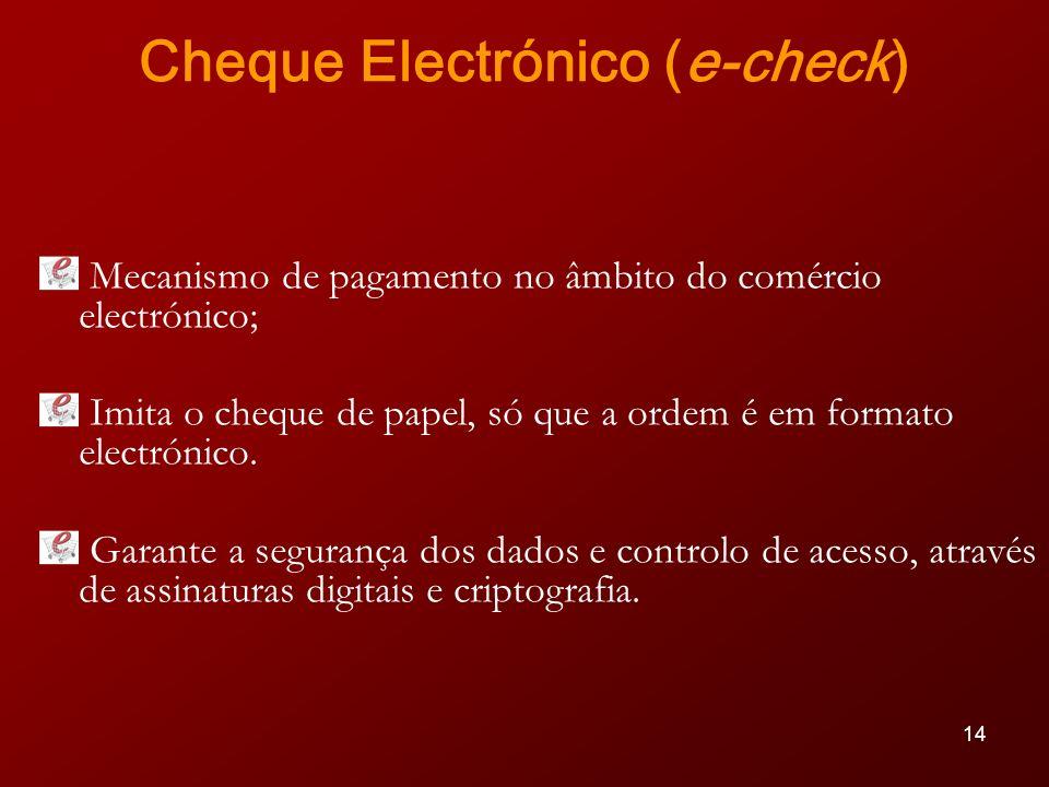 Cheque Electrónico (e-check)