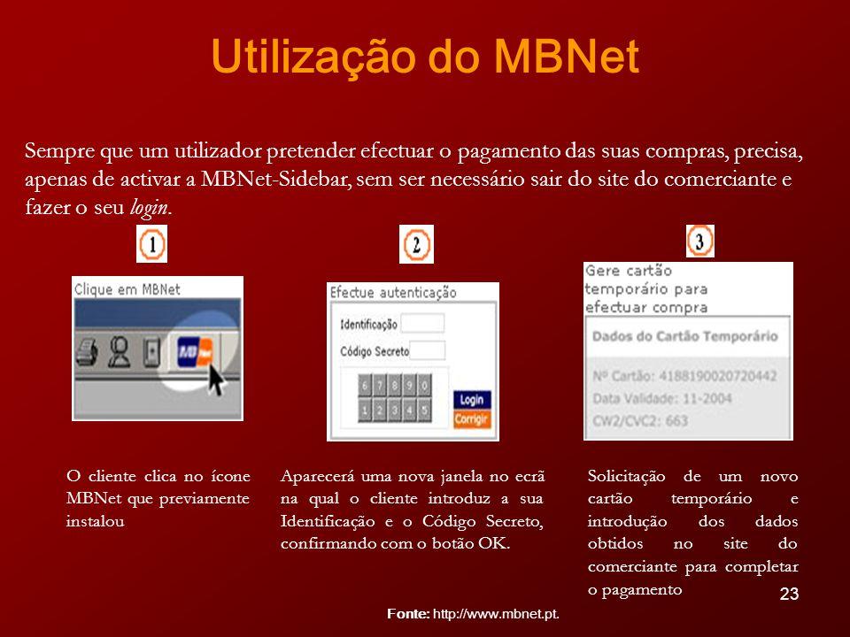 Utilização do MBNet