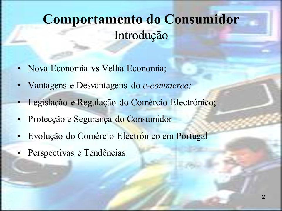 Comportamento do Consumidor Introdução