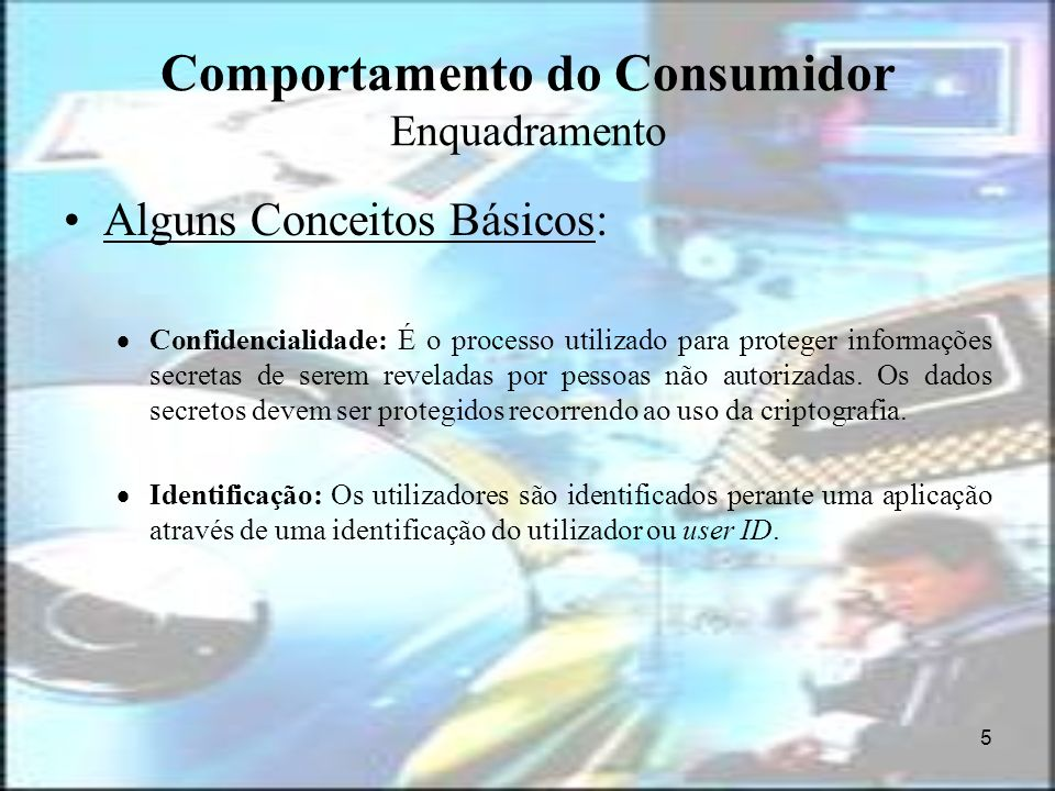 Comportamento do Consumidor Enquadramento
