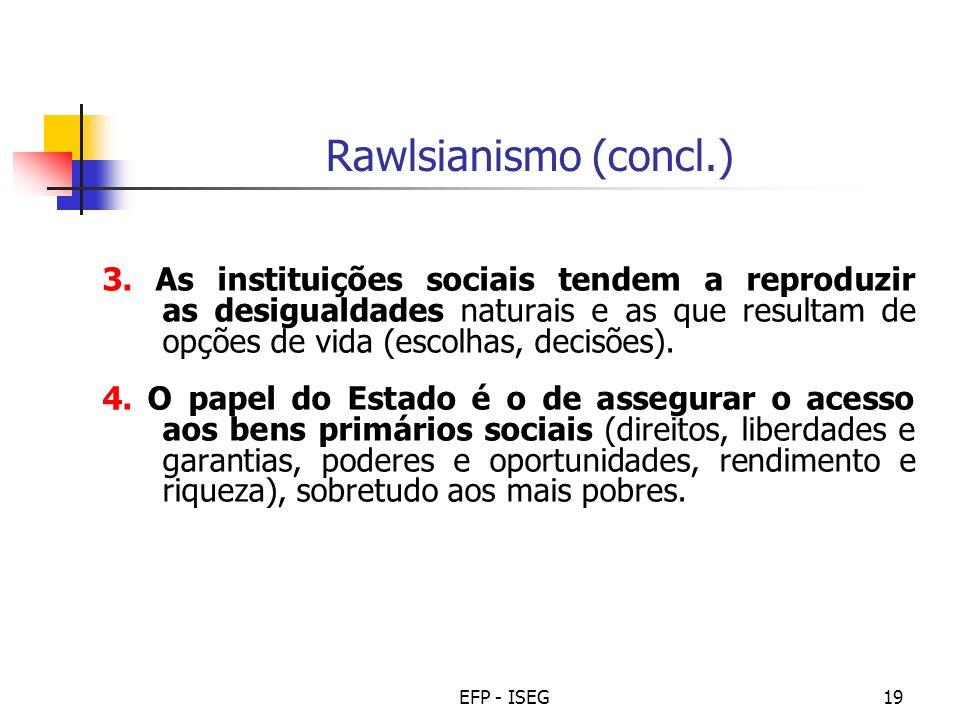 Rawlsianismo (concl.)