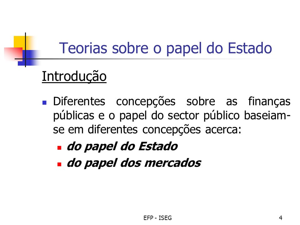 Teorias sobre o papel do Estado