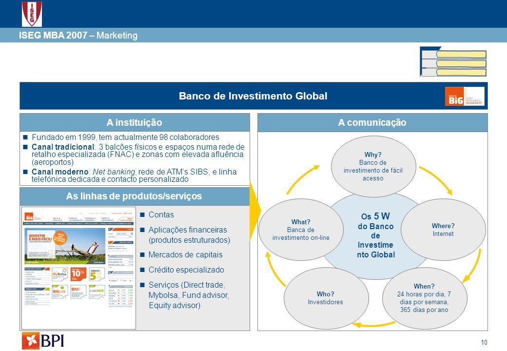 Banco de Investimento Global