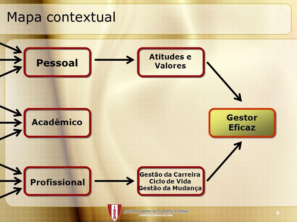 Mapa contextual Pessoal Gestor Académico Eficaz Profissional