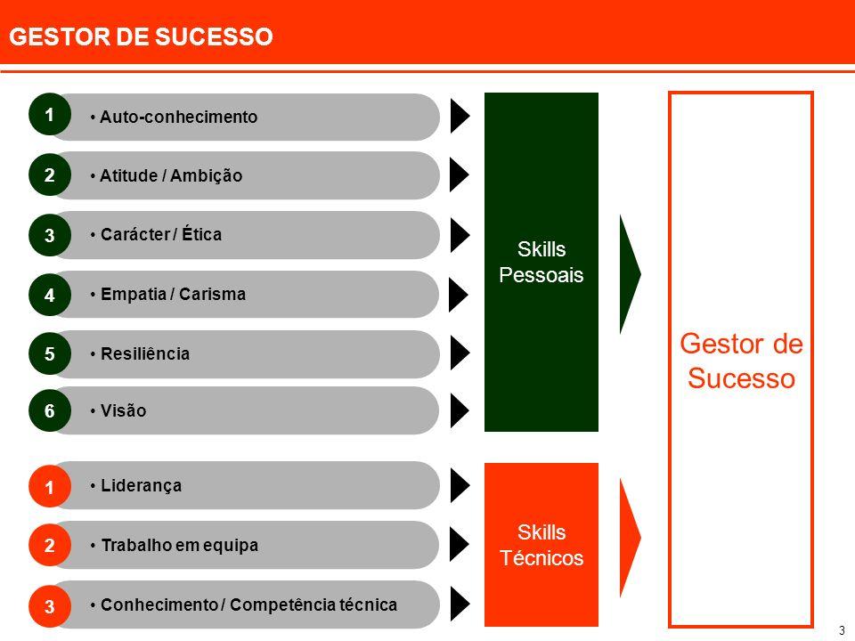 Gestor de Sucesso GESTOR DE SUCESSO Skills Pessoais Skills Técnicos 1