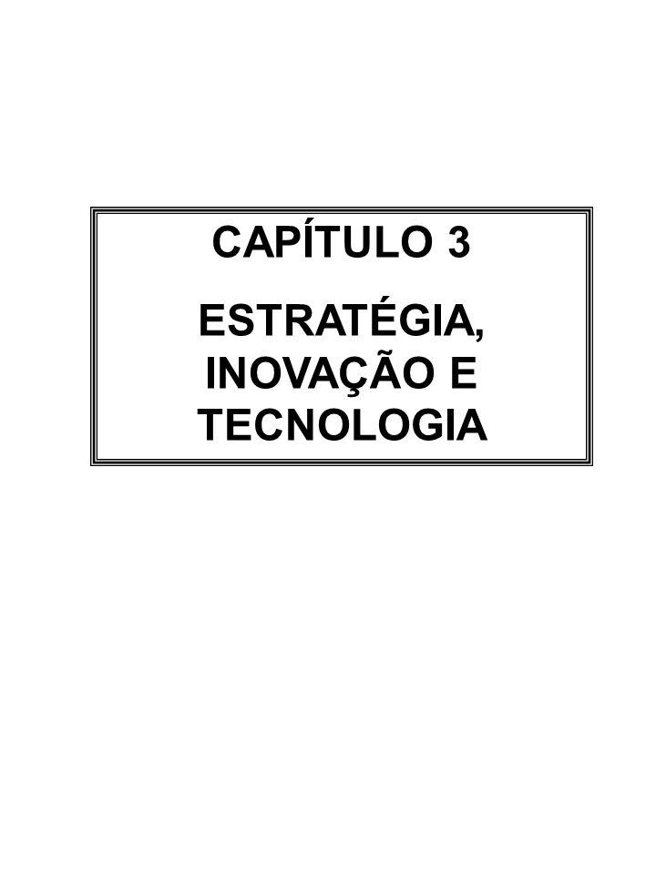 ESTRATÉGIA, INOVAÇÃO E TECNOLOGIA