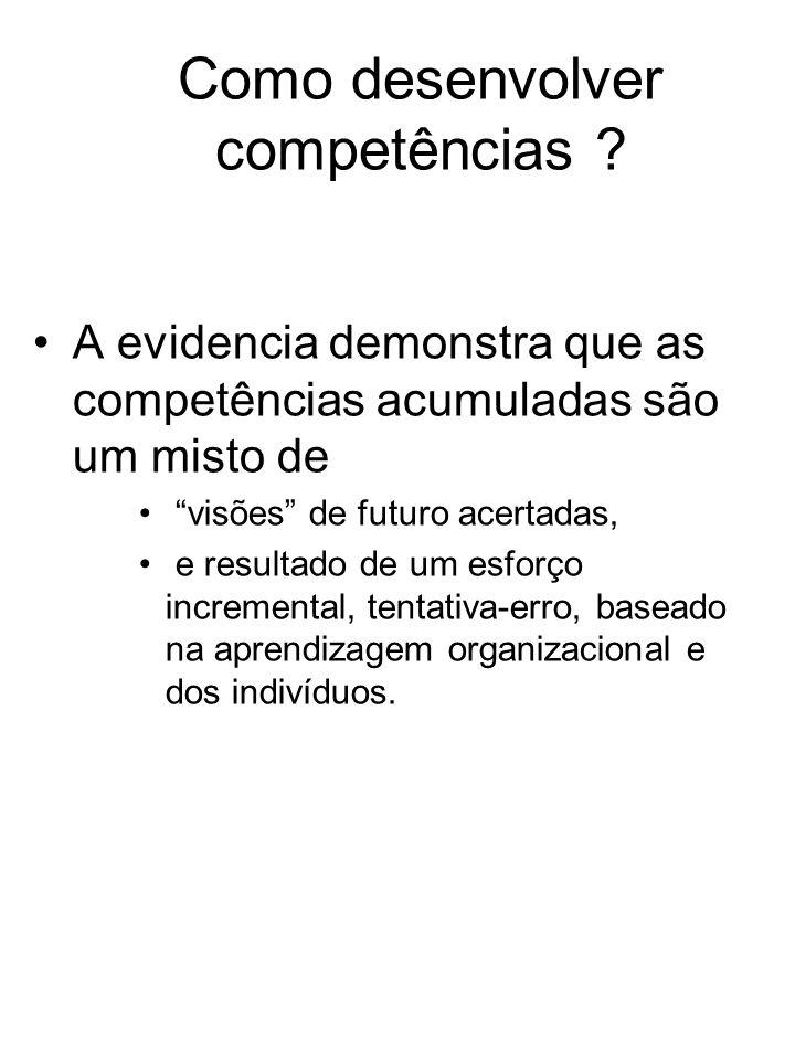Como desenvolver competências