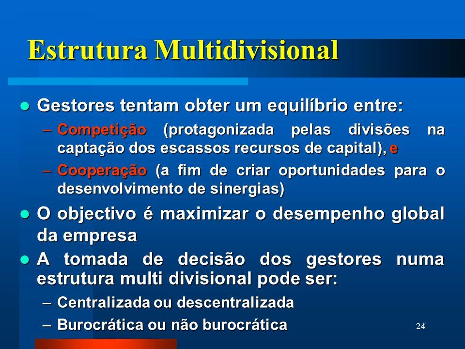 Estrutura Multidivisional