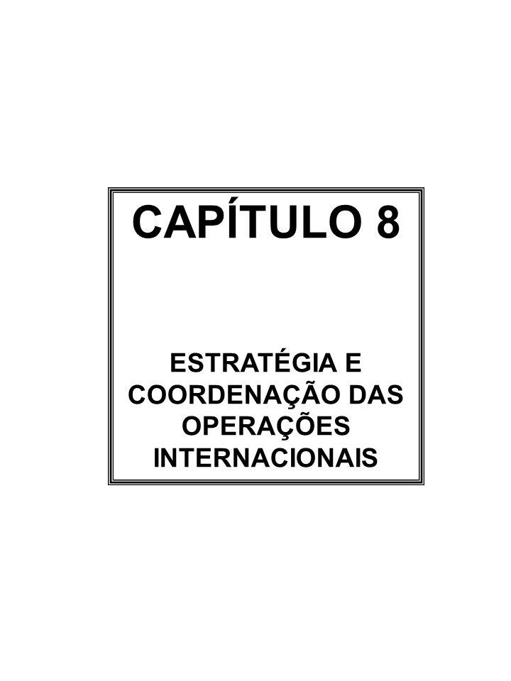 ESTRATÉGIA E COORDENAÇÃO DAS OPERAÇÕES INTERNACIONAIS
