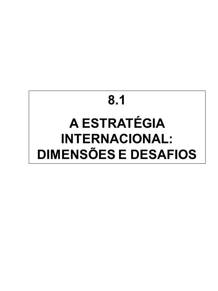 A ESTRATÉGIA INTERNACIONAL: DIMENSÕES E DESAFIOS