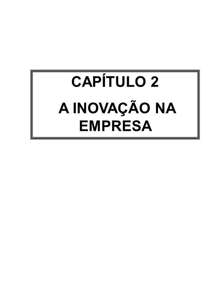 CAPÍTULO 2 A INOVAÇÃO NA EMPRESA