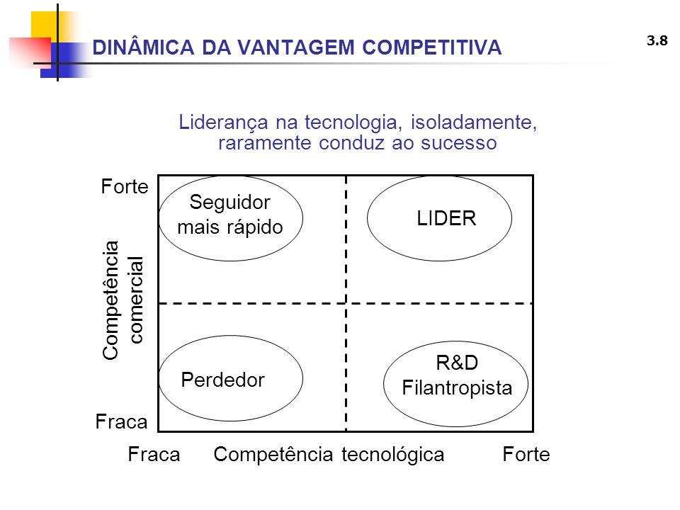 DINÂMICA DA VANTAGEM COMPETITIVA