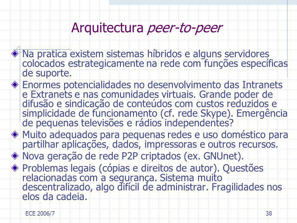 Arquitectura peer-to-peer