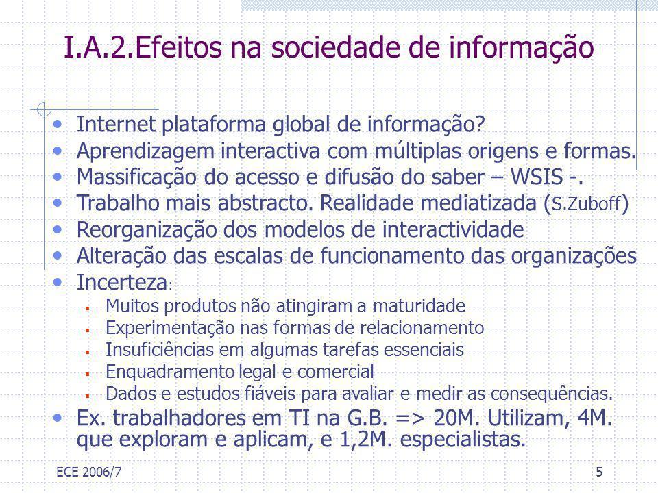 I.A.2.Efeitos na sociedade de informação