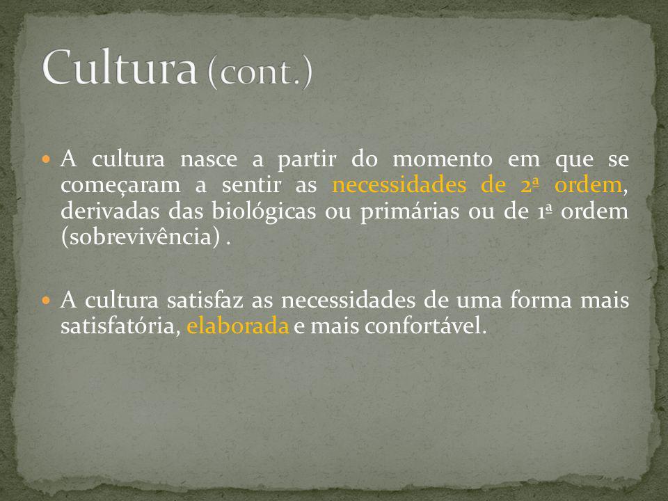 Cultura (cont.)