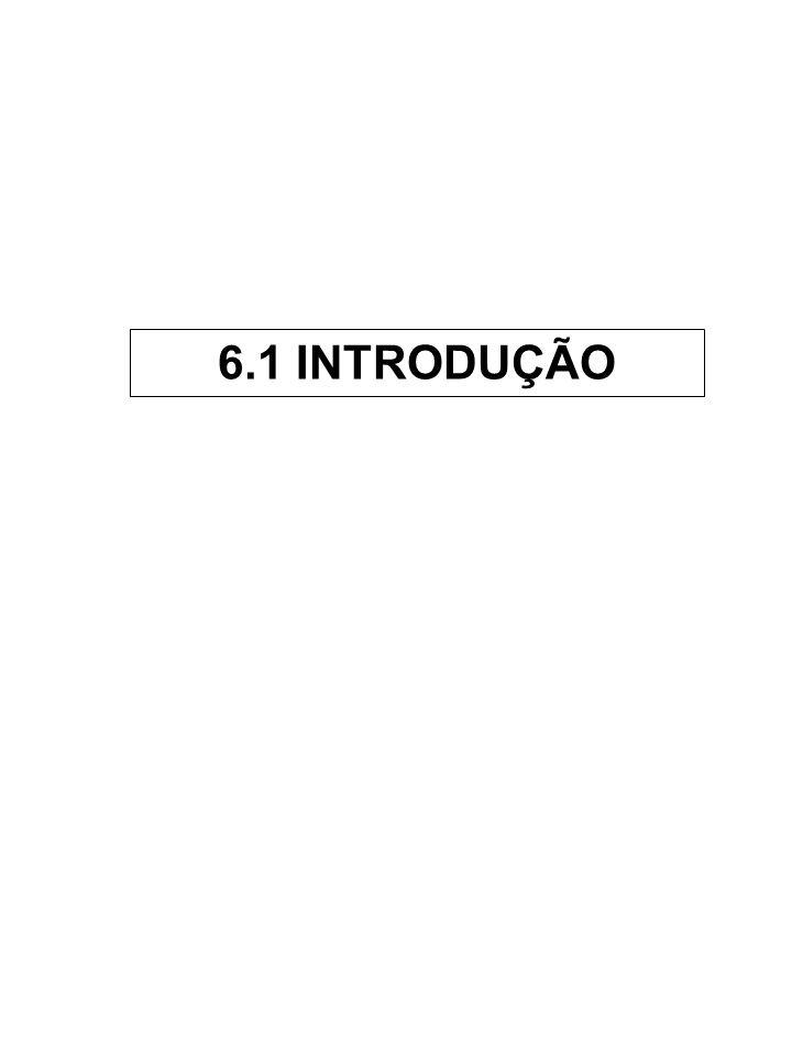 6.1 INTRODUÇÃO