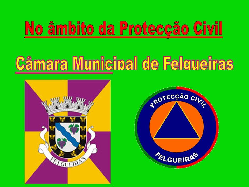 No âmbito da Protecção Civil