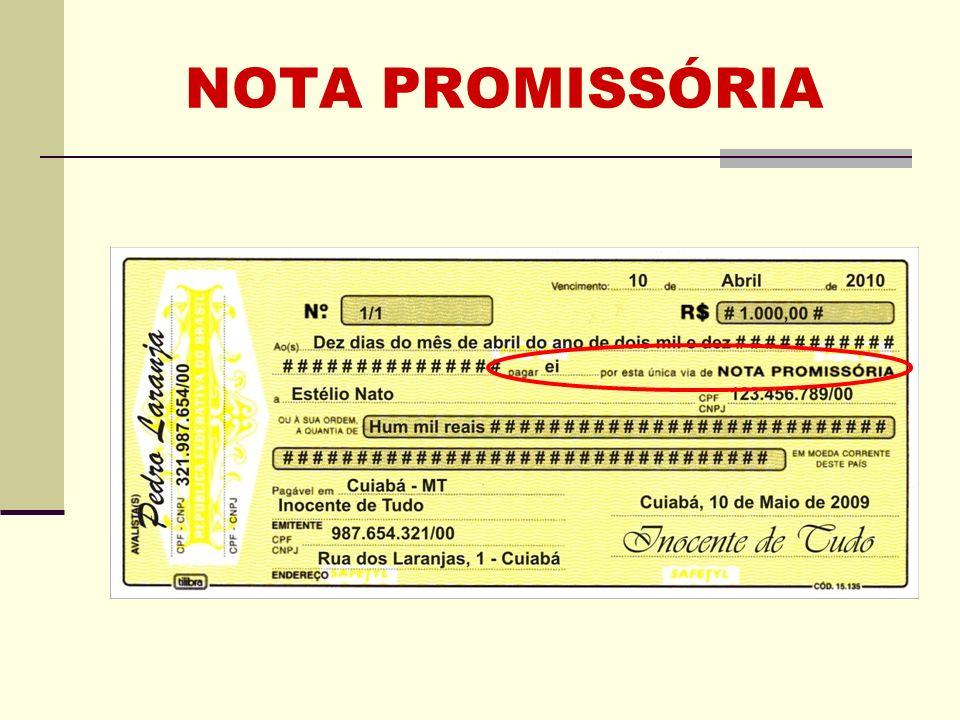 NOTA PROMISSÓRIA Clique para adicionar texto