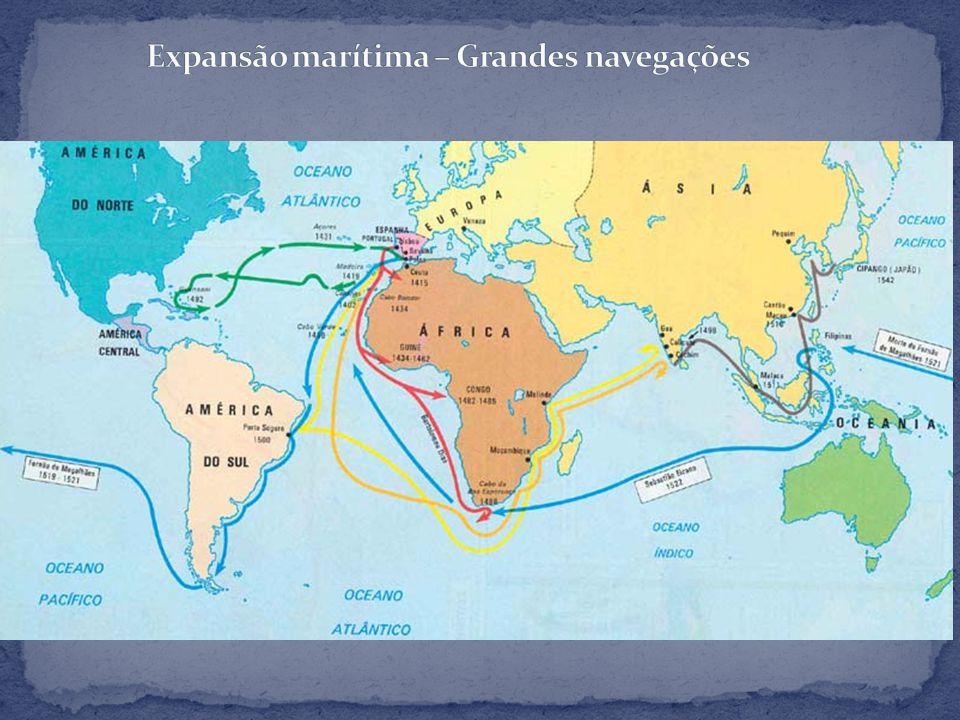 Expansão marítima – Grandes navegações