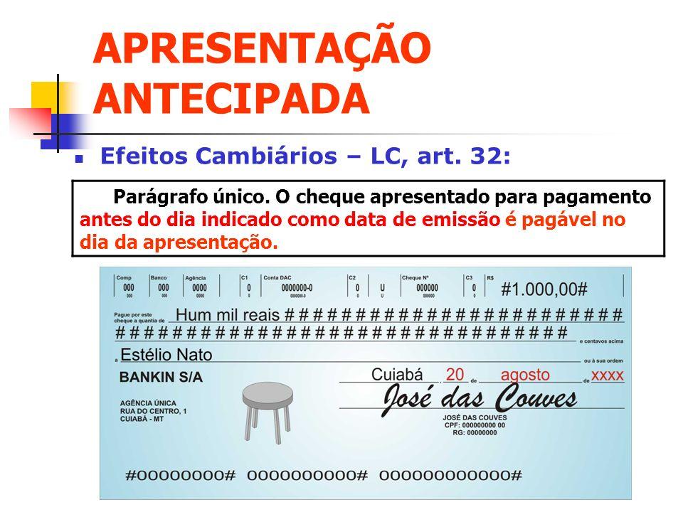 APRESENTAÇÃO ANTECIPADA