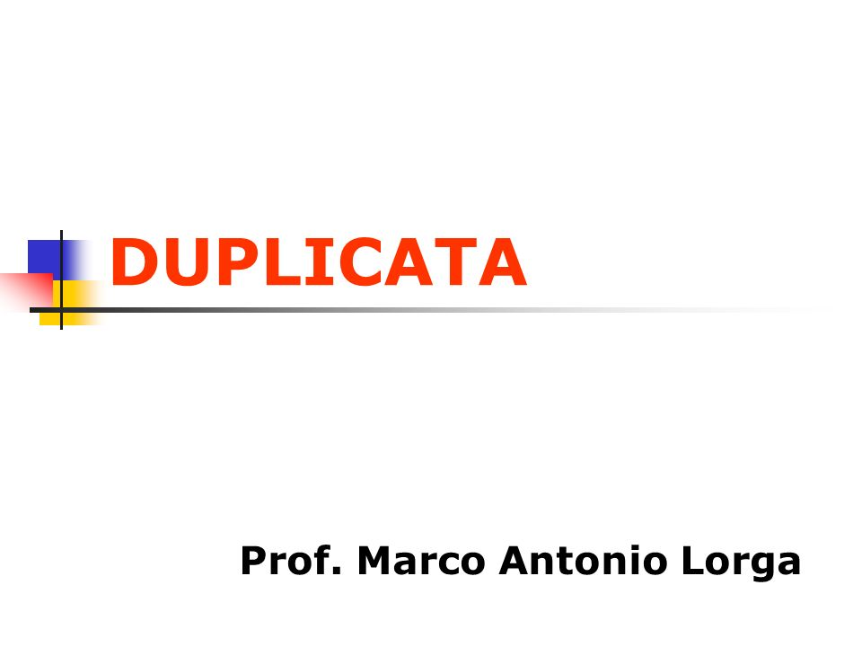 Prof. Marco Antonio Lorga