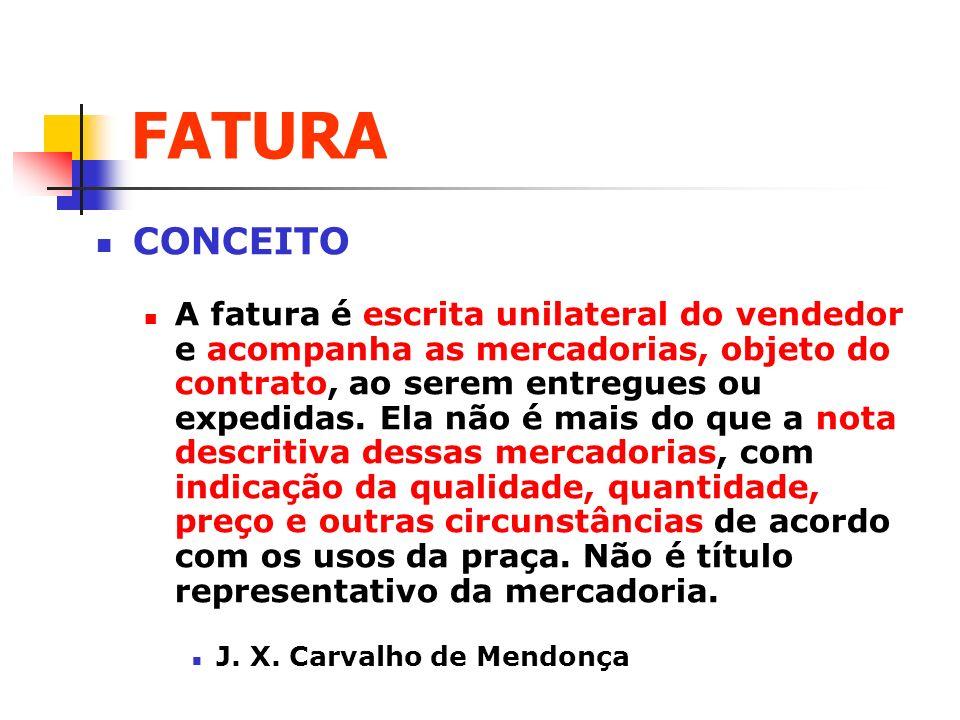 FATURA CONCEITO.