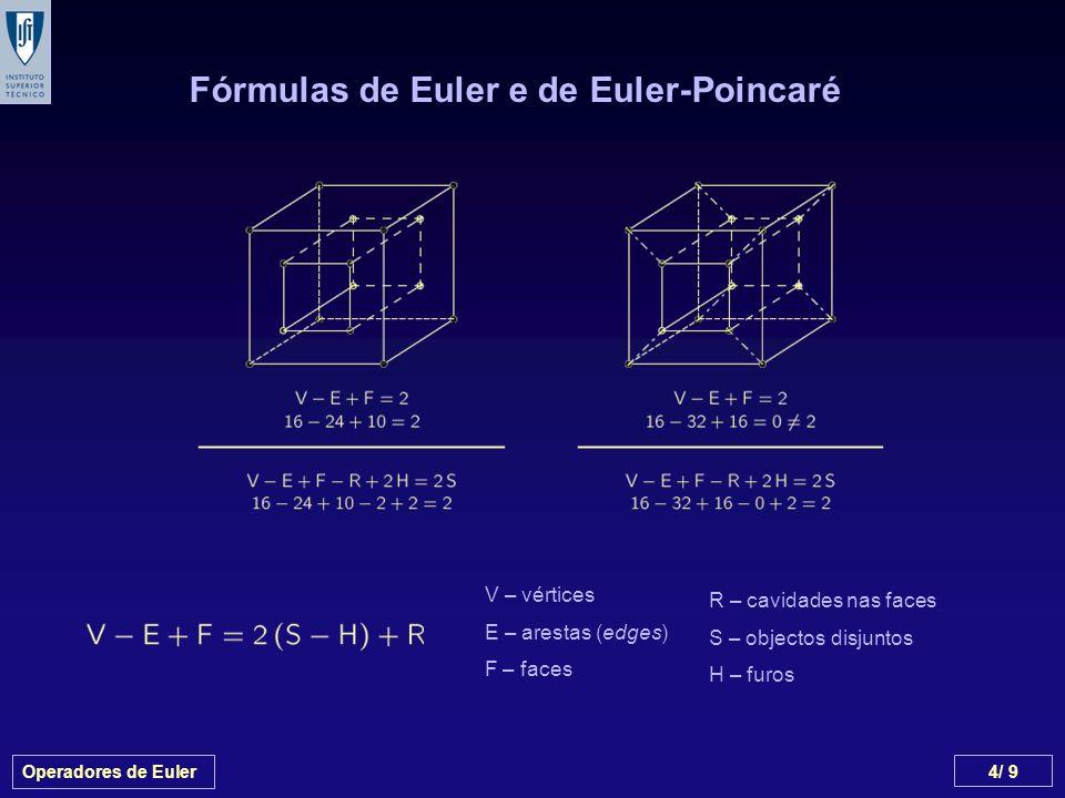 Fórmulas de Euler e de Euler-Poincaré