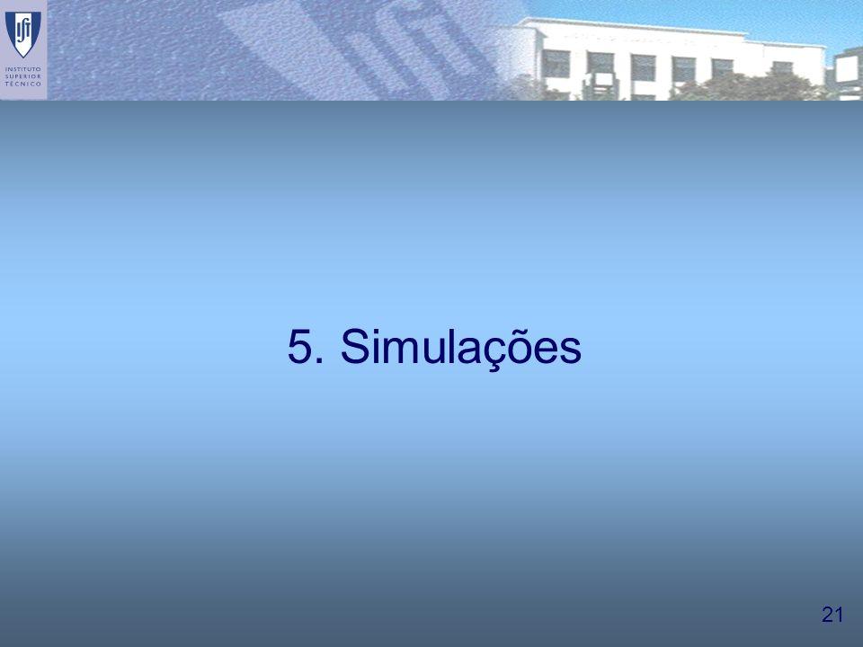 5. Simulações