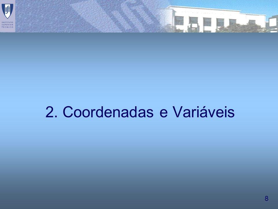 2. Coordenadas e Variáveis