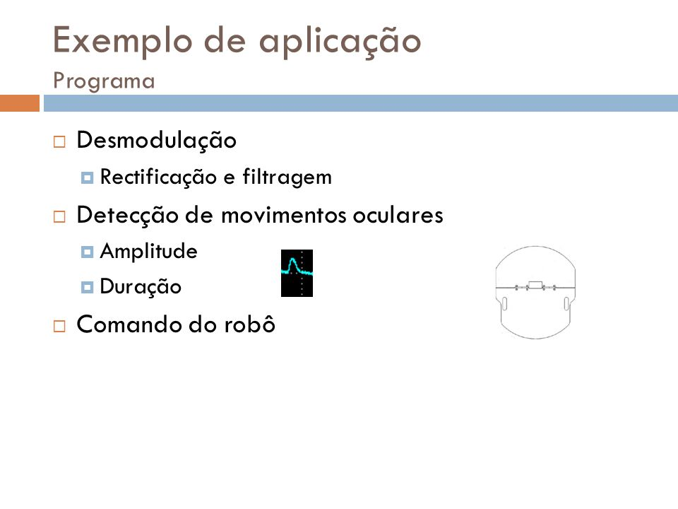 Exemplo de aplicação Programa