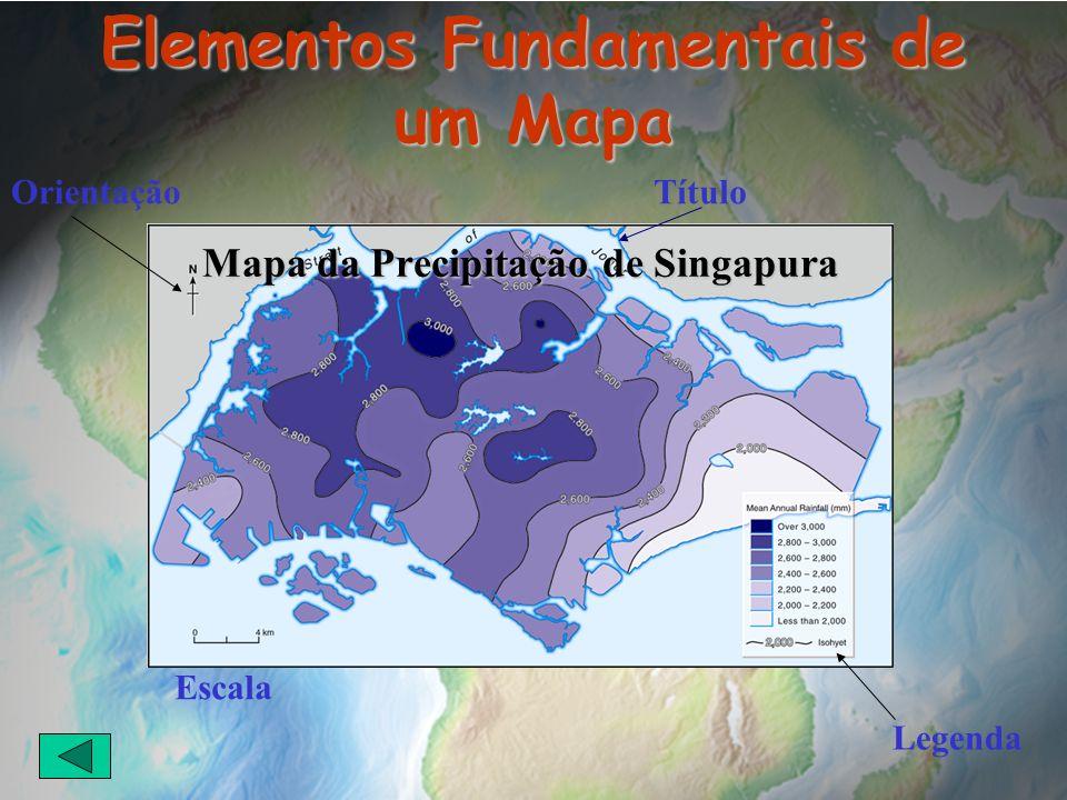 Elementos Fundamentais de um Mapa