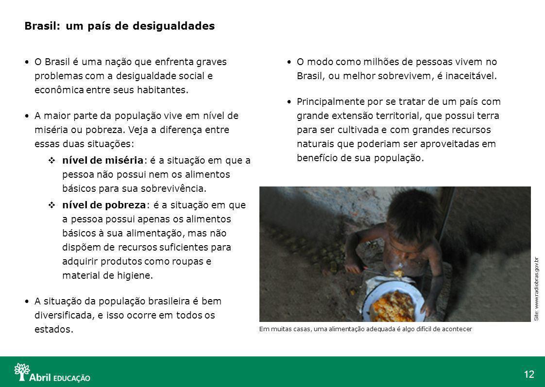 Brasil: um país de desigualdades