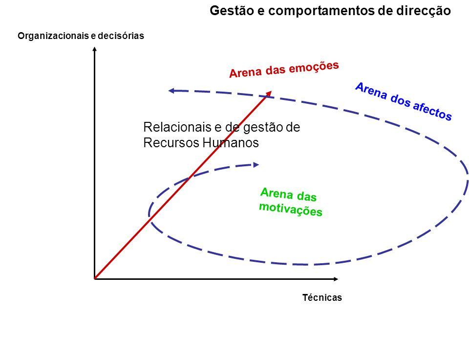 Gestão e comportamentos de direcção