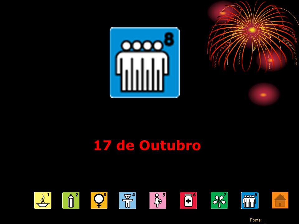 17 de Outubro Fonte: www.pobrezazero.org