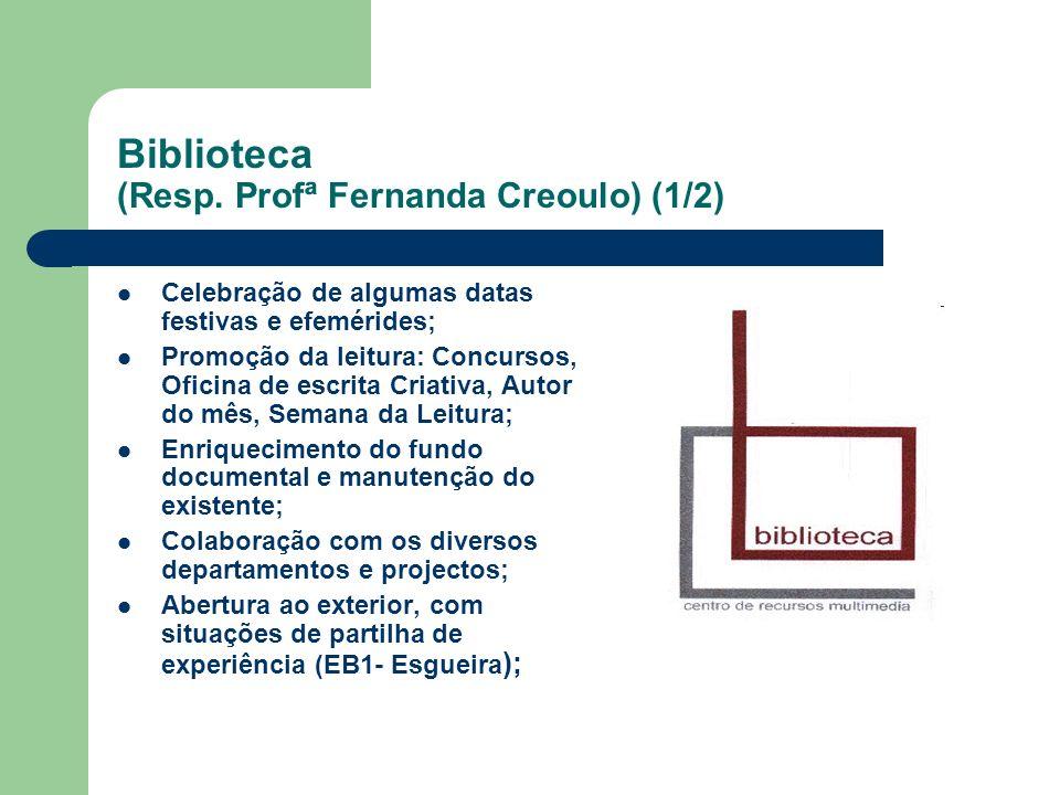 Biblioteca (Resp. Profª Fernanda Creoulo) (1/2)