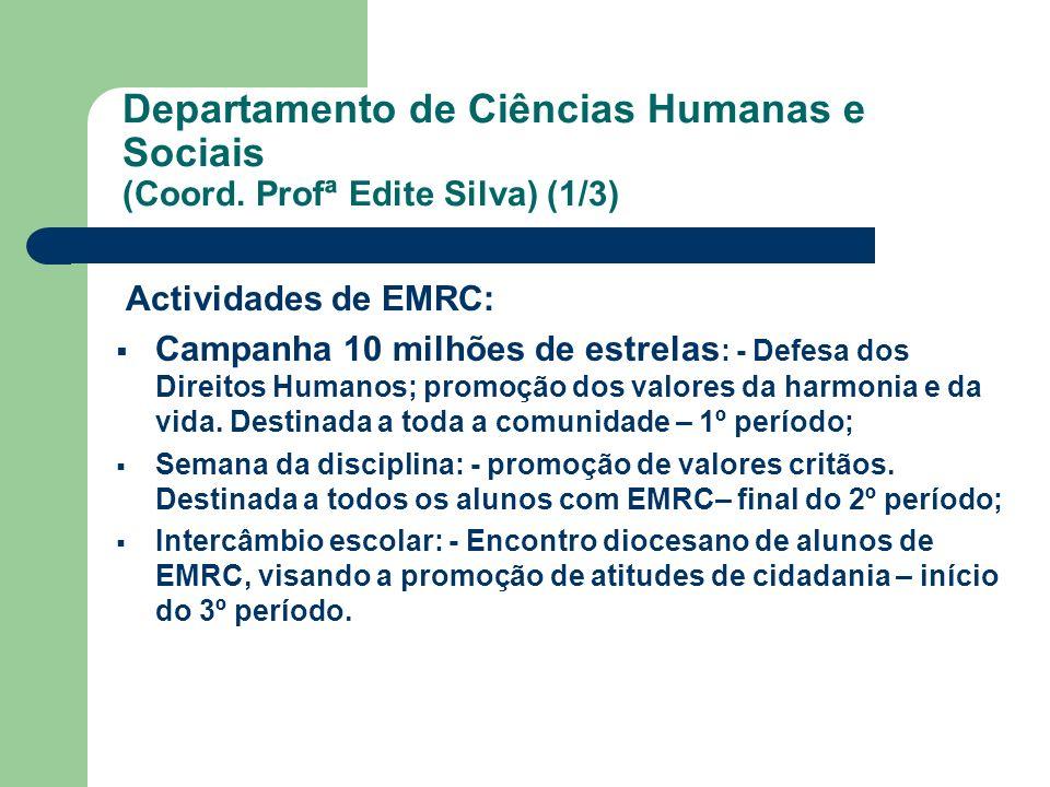 Departamento de Ciências Humanas e Sociais (Coord