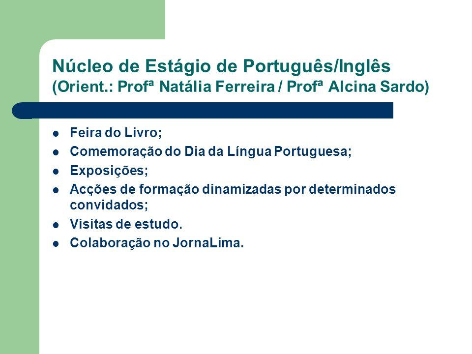 Núcleo de Estágio de Português/Inglês (Orient