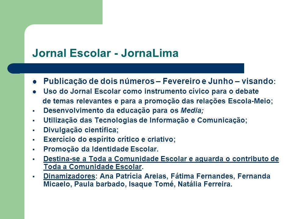 Jornal Escolar - JornaLima