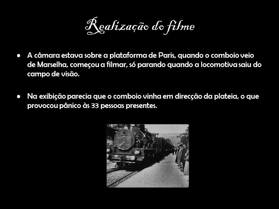 Realização do filme