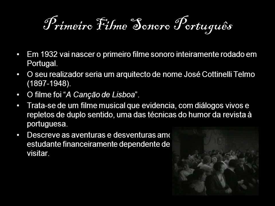 Primeiro Filme Sonoro Português