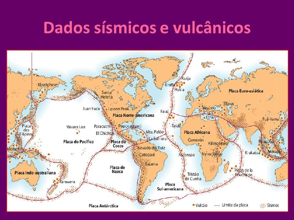 Dados sísmicos e vulcânicos