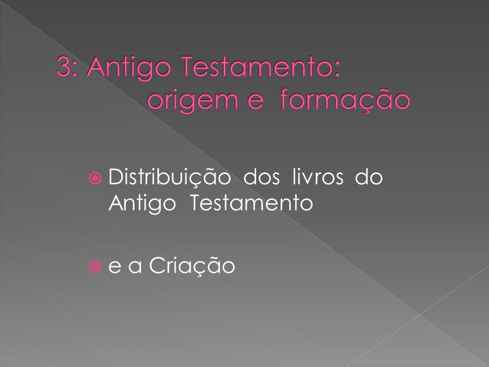 3: Antigo Testamento: origem e formação