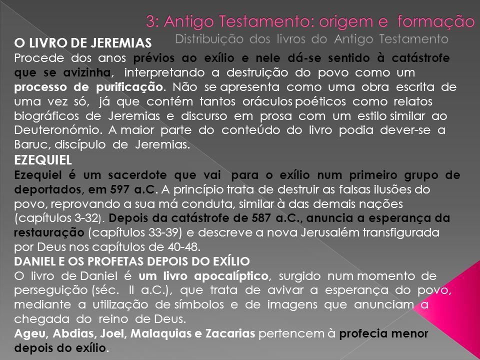 O LIVRO DE JEREMIAS EZEQUIEL