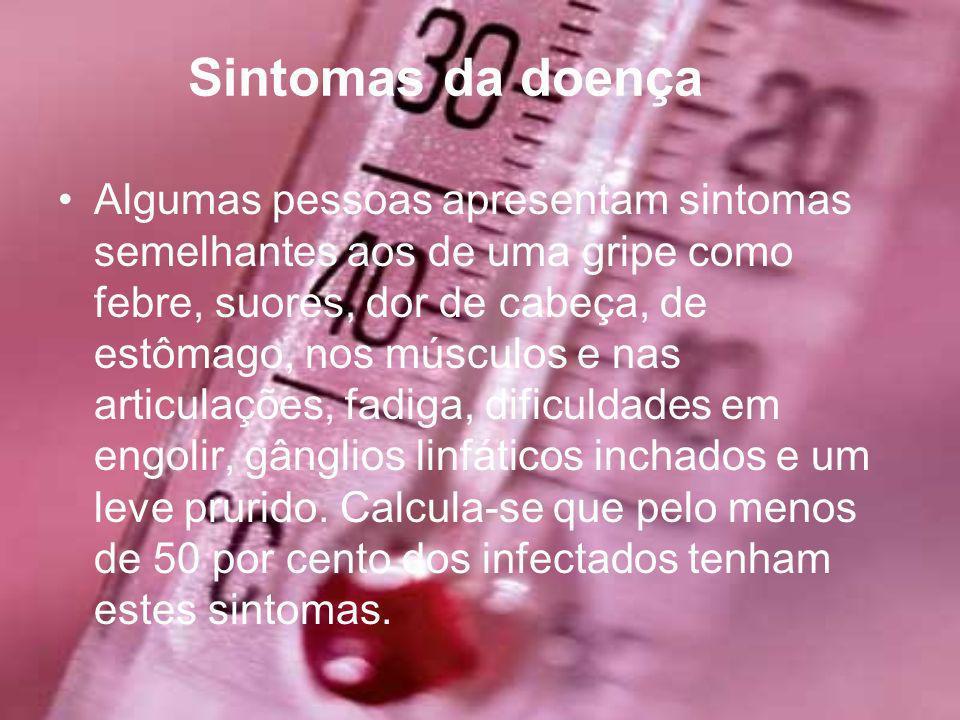 Sintomas da doença