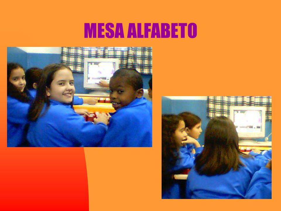 MESA ALFABETO