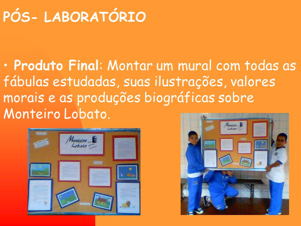 PÓS- LABORATÓRIO